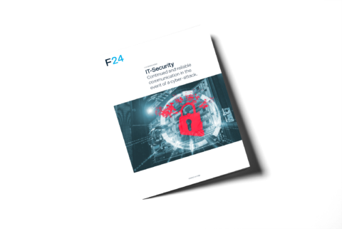 F24 Whitepaper: IT-Security - Vorderansicht