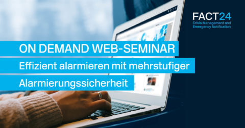 On demand Web-Seminar FACT24 ENS
